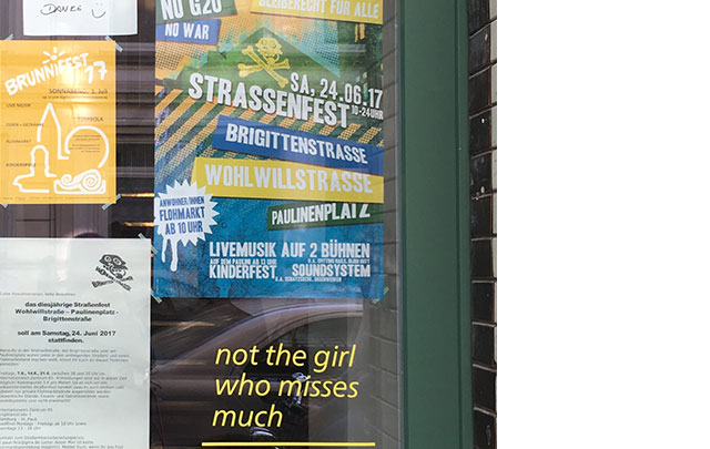 not the girl who misses much, wohlwillstraße, st. Pauli